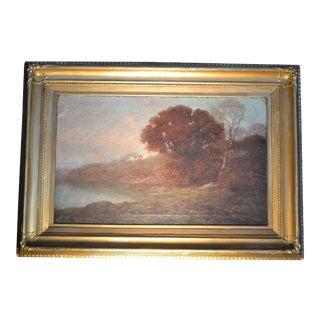 Barbizon School Landscape, 19th Century For Sale