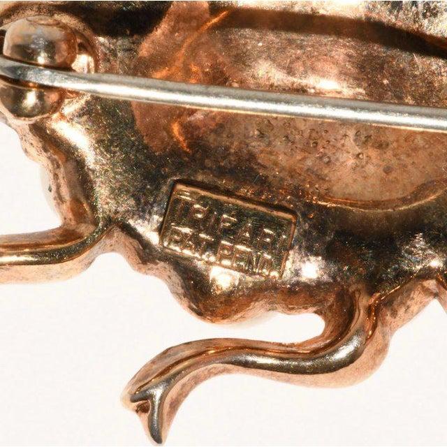Trifari Trifari Ladybug Faux Pearl Rhinestones Insect Bug Pin Brooch For Sale - Image 4 of 5
