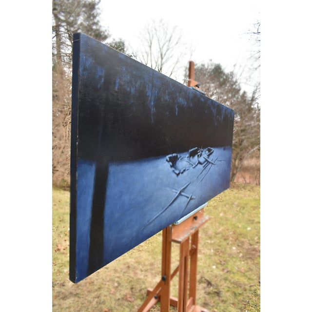 """2010s Contemporary Painting, """"Old Cellar Hole in the Woods"""" by Stephen Remick For Sale - Image 9 of 11"""