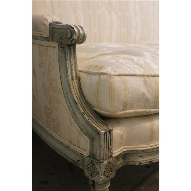 Louis XVI Style Settee - Image 4 of 7