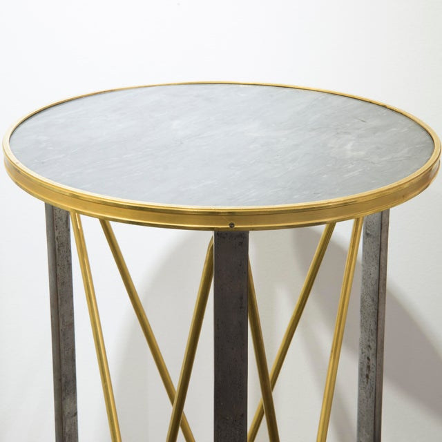 Maison Jansen Stand made of silver and gold brass The feet's stand represent lion paws French work form the 1960's...