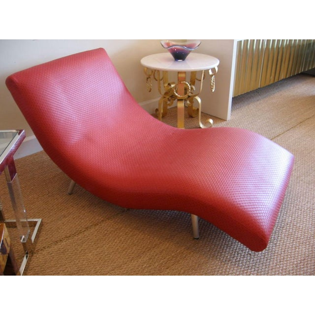 1950s Mid Century Modern Chaise Longue For Sale - Image 5 of 10