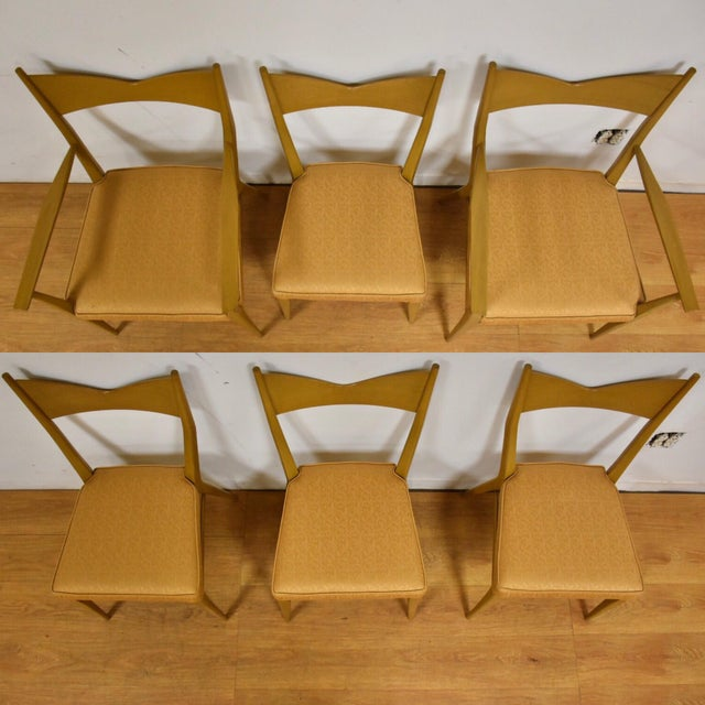 Dining Table and Chairs by Paul McCobb - Set of 7 For Sale - Image 9 of 13
