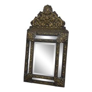 Late 19th Century Antique Dutch Cushion Mirror For Sale