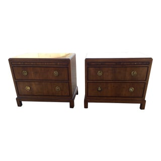 1970s Vintage Heritage Nightstands - A Pair For Sale