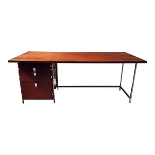 Jules Wabbes Rosewood Desk For Sale
