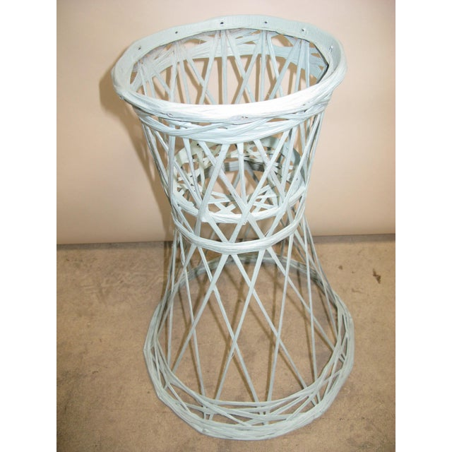 1960s Mid Century Modern Fiberglass Russell Woodard Plant Stand For Sale - Image 5 of 8