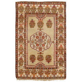 Antique 19th Century Persian Fereghen Rug For Sale