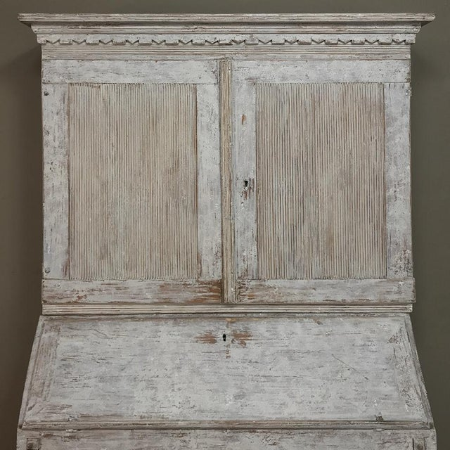 19th Century Swedish Painted Secretary For Sale In Dallas - Image 6 of 13