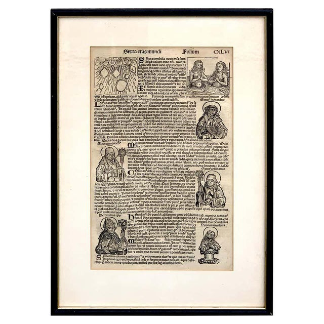 'World Chronicle', 1st Edition, by Schedel & Wolgemut, Nurnberg, 1493 For Sale - Image 13 of 13