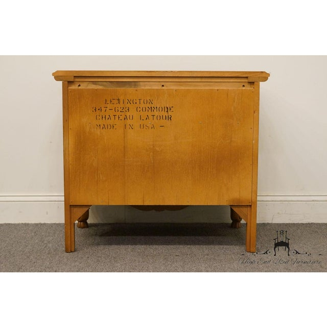 """Lexington Furniture Chateau Latour Collection French Country 30"""" Nightstand For Sale - Image 10 of 13"""