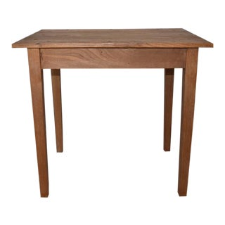 French Tapered Leg Side Table For Sale