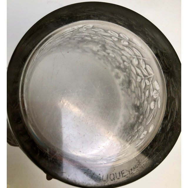 "1930s Vintage R. Lalique ""Silenes"" Vase For Sale - Image 10 of 13"