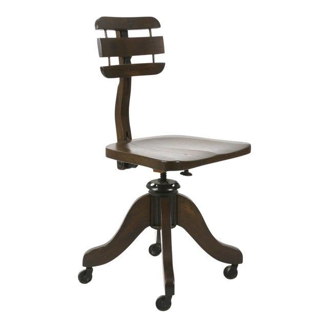 Pleasing Early 1900S Antique Cook Desk Chair Home Remodeling Inspirations Gresiscottssportslandcom
