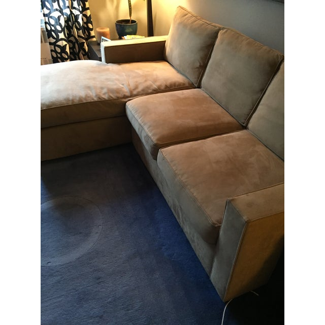 Room & Board York Sectional Sofa With Chaise Lounge - Image 3 of 11