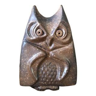 Sewer Tile Owl For Sale