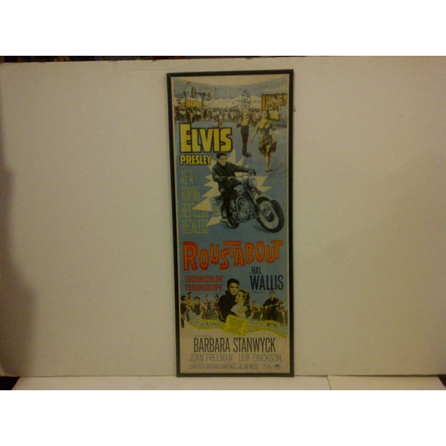 "Contemporary Vintage Movie Poster ""Roustabout"" Signed by Elvis Presley Circa 1964 For Sale - Image 3 of 10"