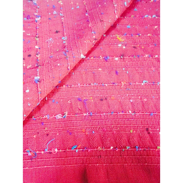 Guatemalan Fabric Boho Beach Textile - Image 10 of 10