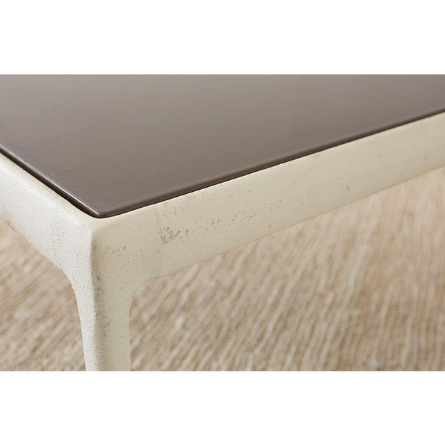 Aluminum Richard Schultz for Knoll Aluminum Cocktail Table For Sale - Image 7 of 13