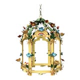 Image of Palace Floral Design Pendant Light For Sale