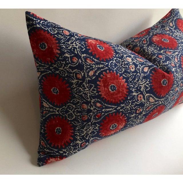 Indian Block Print Pillow - Image 6 of 6