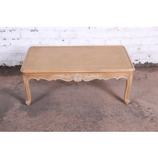 Kindel Furniture Carved French Provincial Louis XV Style Coffee Table Preview