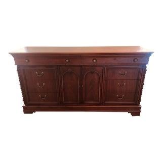 Lexington Vestiges of the Past Triple Dresser Mahogany Finish For Sale