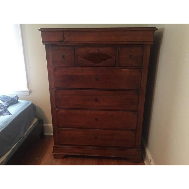 Elegant Wood Dresser - Image 3 of 5