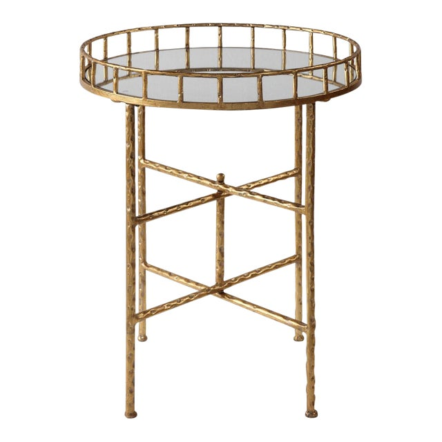 Regency Gold Tray/Side Table For Sale