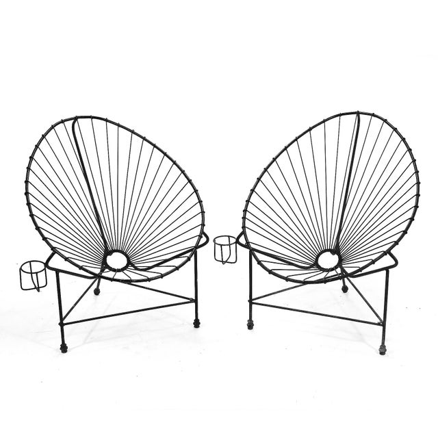 Pair of Acapulco Chairs For Sale - Image 10 of 11