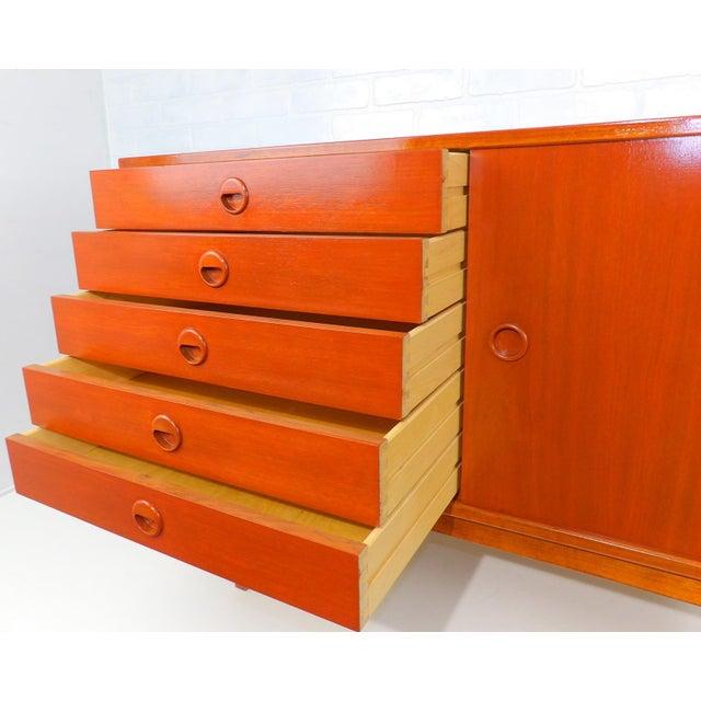 Folke Ohlsson for Dux Sweden Mid Century Modern Sideboard For Sale - Image 10 of 13