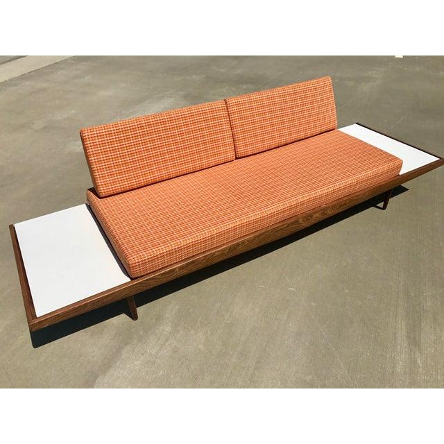 Mid-Century Modern Mid-Century Formica Platform Sofa For Sale - Image 3 of 11