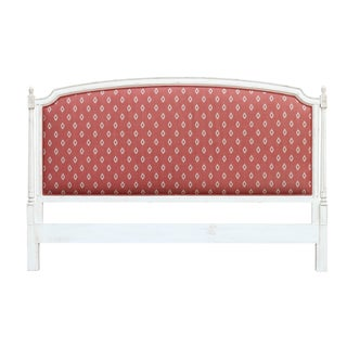 French Style King Size Upholstered Headboard For Sale