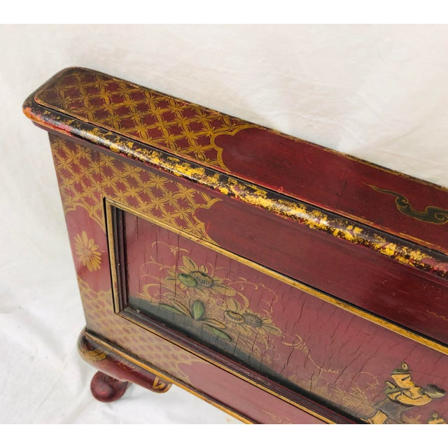 Antique Chinoiserie Bed For Sale - Image 11 of 13