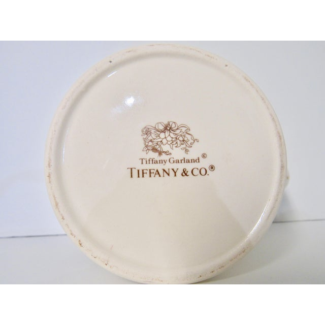 Ceramic Christmas Mugs by Tiffany & Co - A Pair For Sale - Image 7 of 13