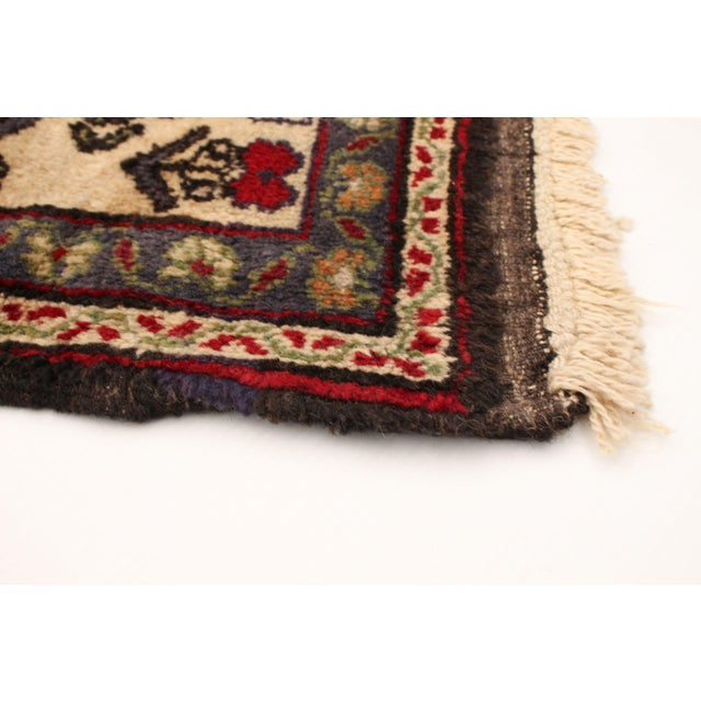 Vintage Turkish Red Rug For Sale - Image 4 of 9