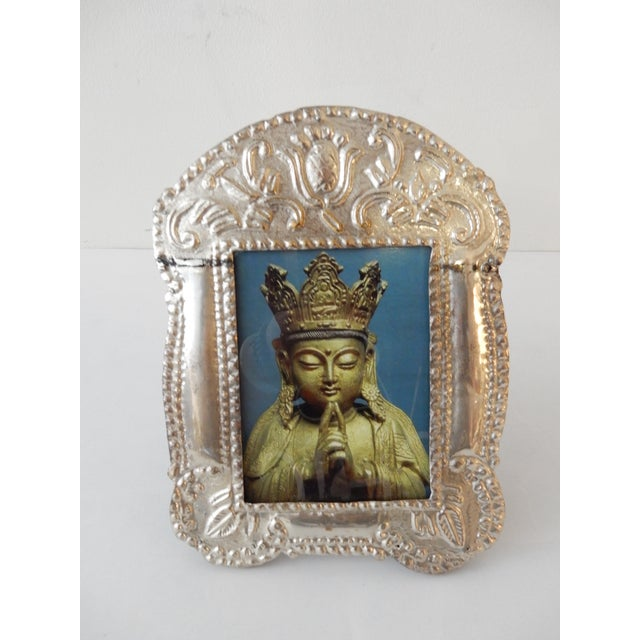 Colonial Style Silver Picture Frame - Image 8 of 8