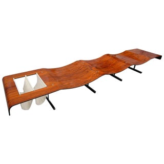 Onda Bench by Jorge Zalszupin For Sale