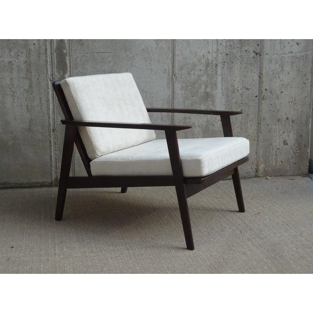 Restored Danish Modern Style Armchair - Image 6 of 11