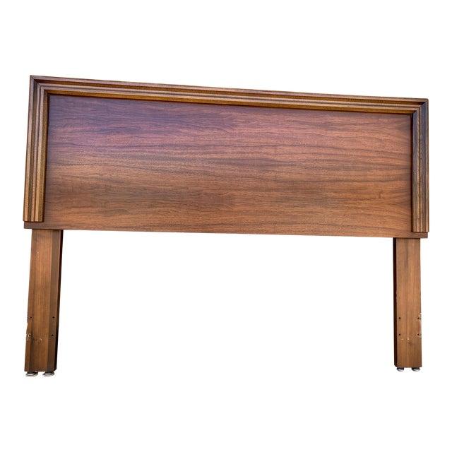1960s Mid-Century Modern Lane Furniture Queen Headboard For Sale