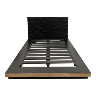 Environment Furniture Reclaimed Peroba Queen Bed Frame For Sale