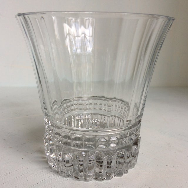 Cristal d' Arques Cristal d'Arques-Durand Victoria Double Old Fashion Glasses - Set of 6 For Sale - Image 4 of 13