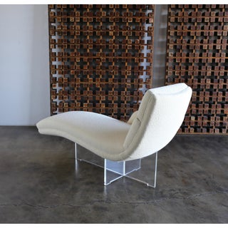 "1970s Vladimir Kagan "" Erica "" Chaise Lounge Preview"