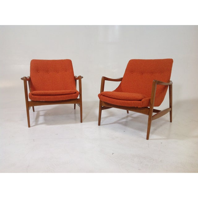 Mid Century Modern Lounge Chairs - 2 - Image 2 of 7