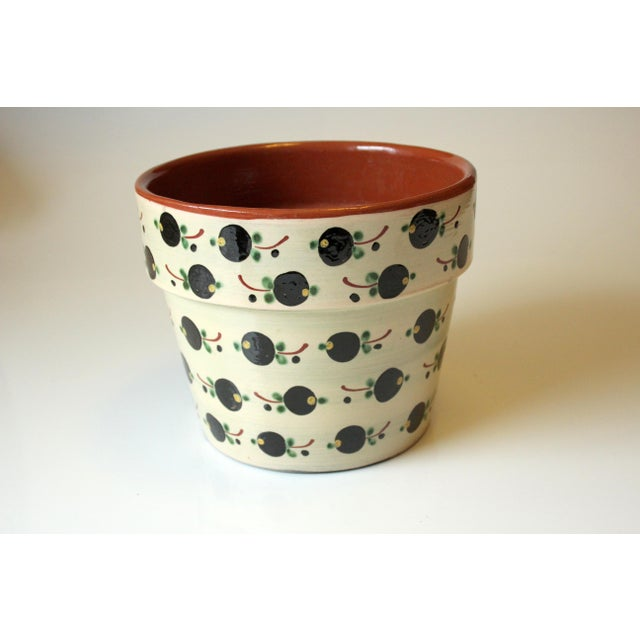 1970s 1970s Vintage Ceramic Planter For Sale - Image 5 of 5