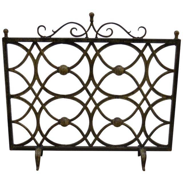 Iron Fireplace Screen - Image 1 of 11