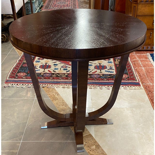 Art Deco Willam Switzer St Honore Accent Table For Sale - Image 3 of 10