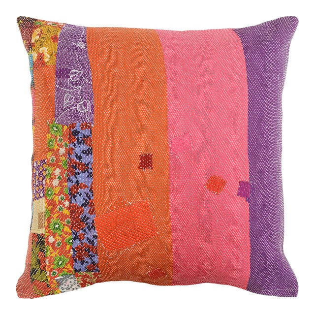 Boho Chic July Sandwich Pillow For Sale