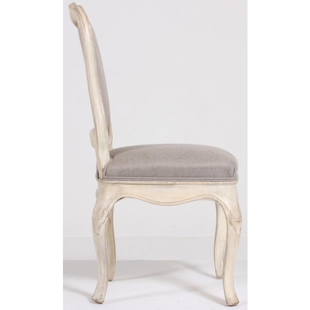 Swedish Baroque Side Chairs - A Pair - Image 3 of 9