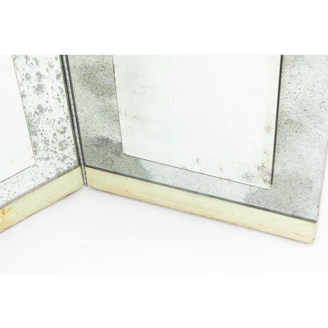 Mid-Century Modern Mid Century 3-Panel Folding Screen For Sale - Image 3 of 8